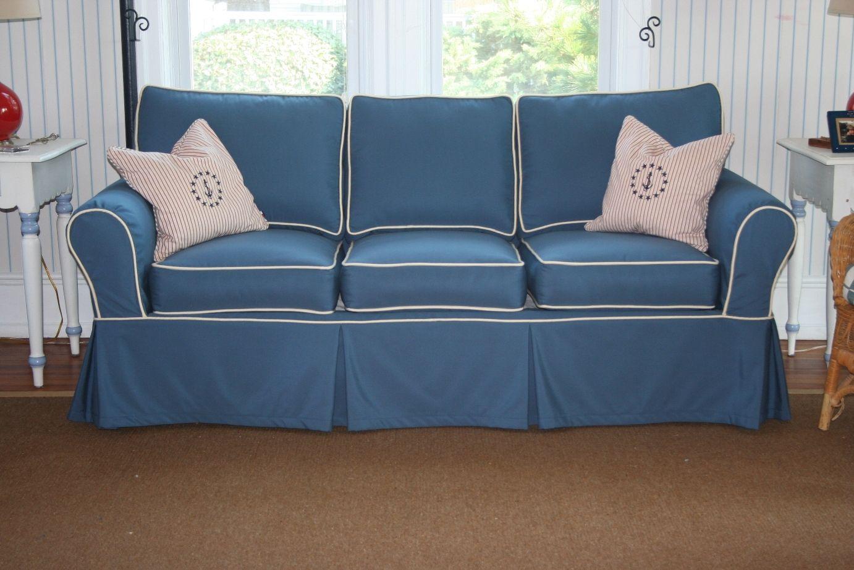 hussen fur sofa blau, 15 fotos hussen für stühle und sofas #sofa   sofa   pinterest, Design ideen