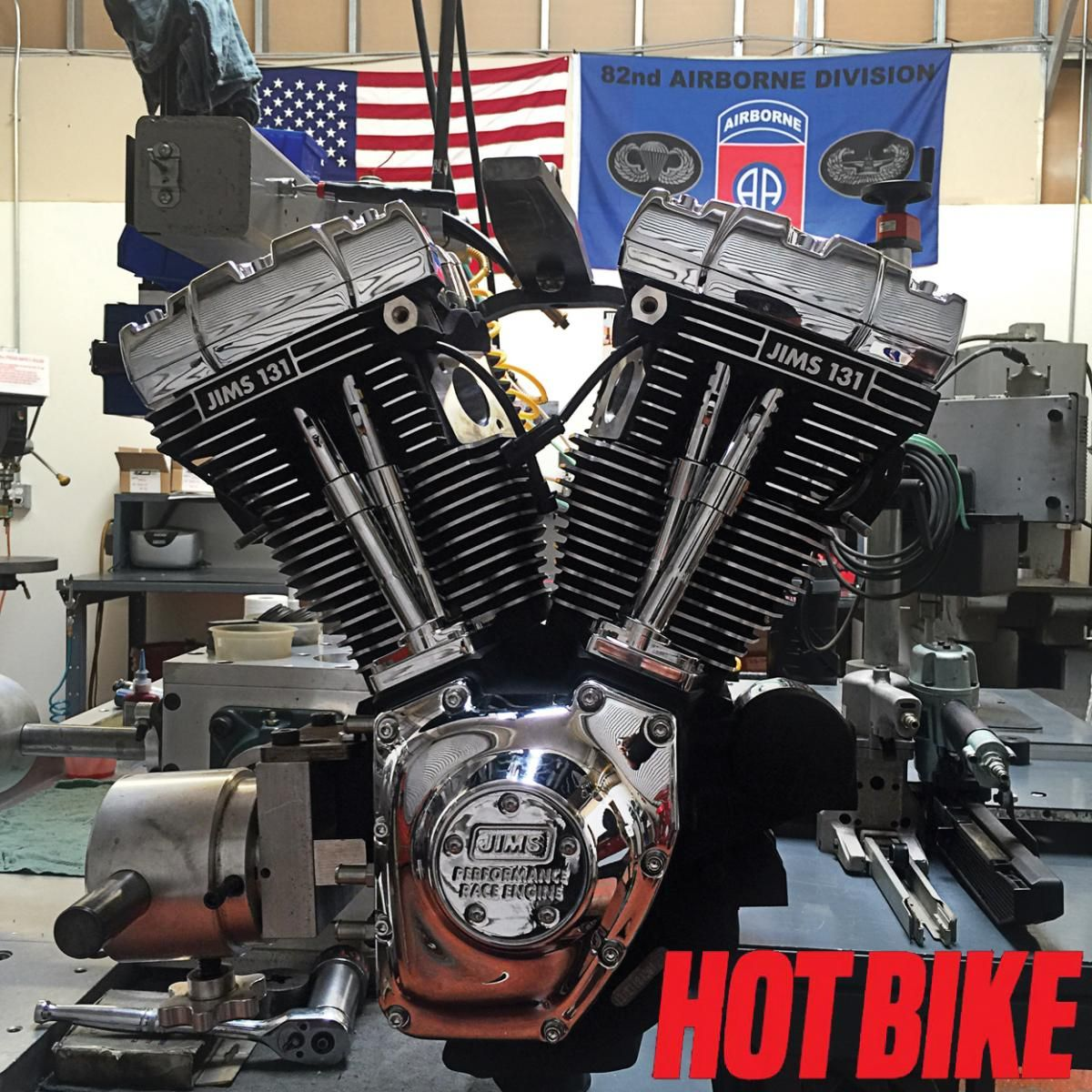 Types Of Motorcycle Engines: JIMS 131 Twin Cam Evo Mount Motor Build