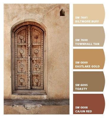 Tuscan Color Pallet By Sherwin Williams
