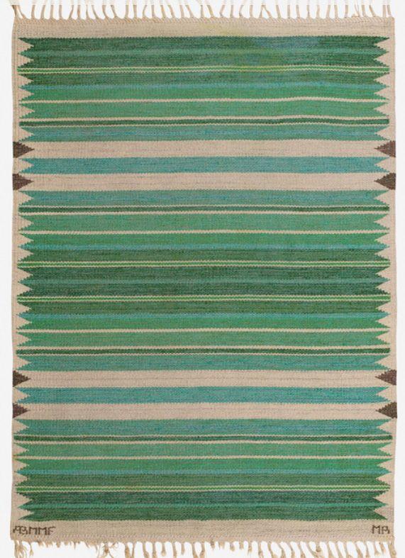 Swedish rug by MMF