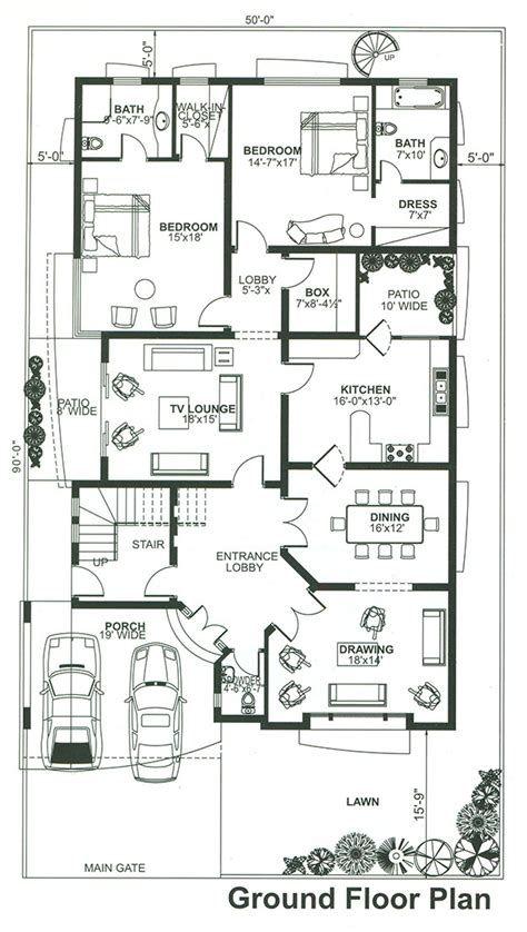 6 Bedroom House Plans 7 1 Knal Double Story House Design 6 Bed House Floor Plan Model House Plan 10 Marla House Plan My House Plans