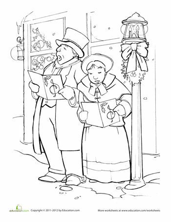 victorian christmas coloring pages victorian christmas colouring pages page 2