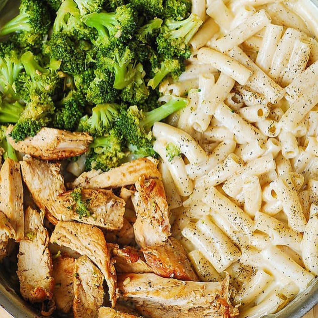 Meal Plan On Instagram Chicken Broccoli Alfredo Made By