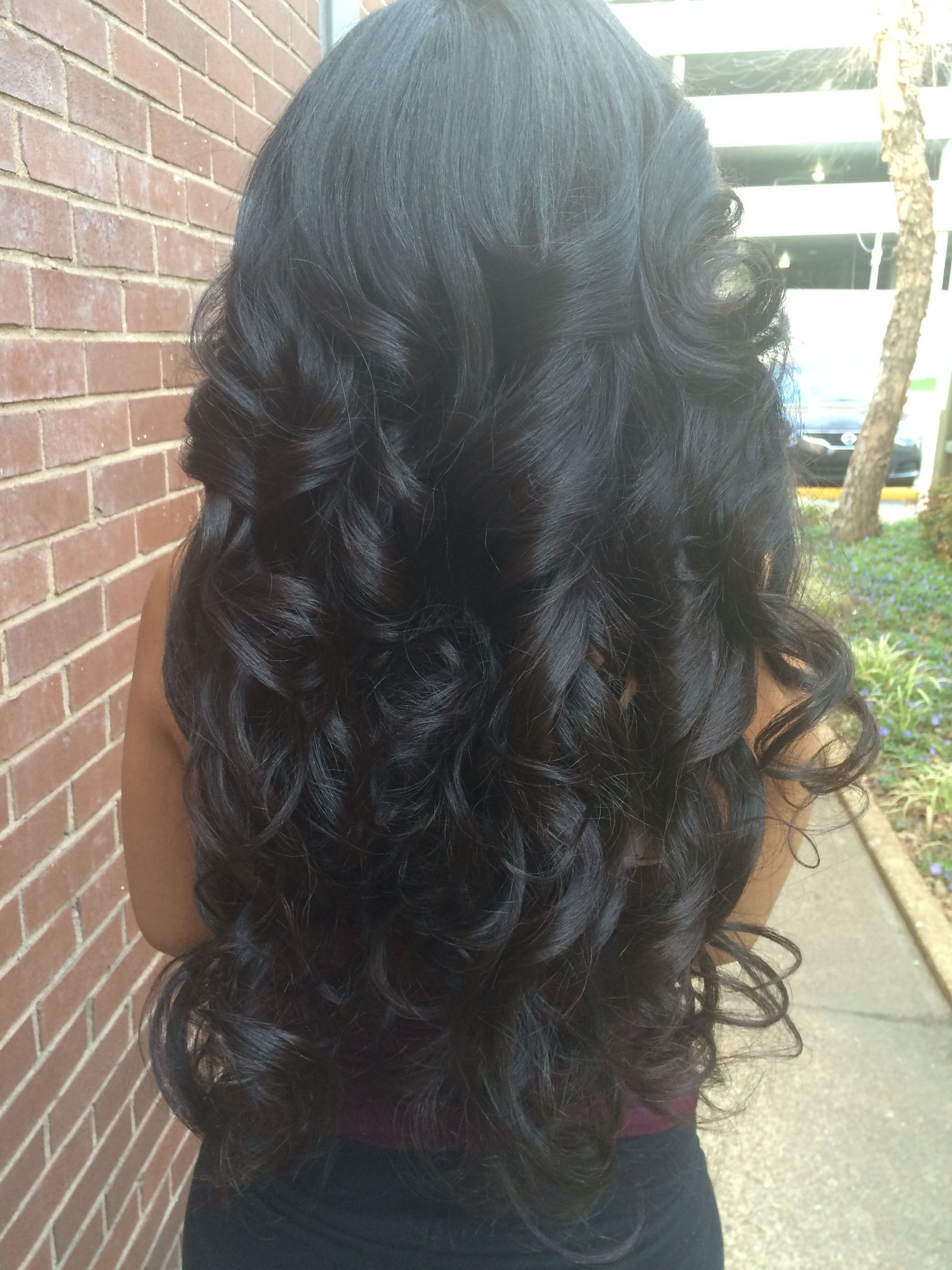 Wand curls 😍😍😍 to die for !   Beautiful hair, Hair beauty