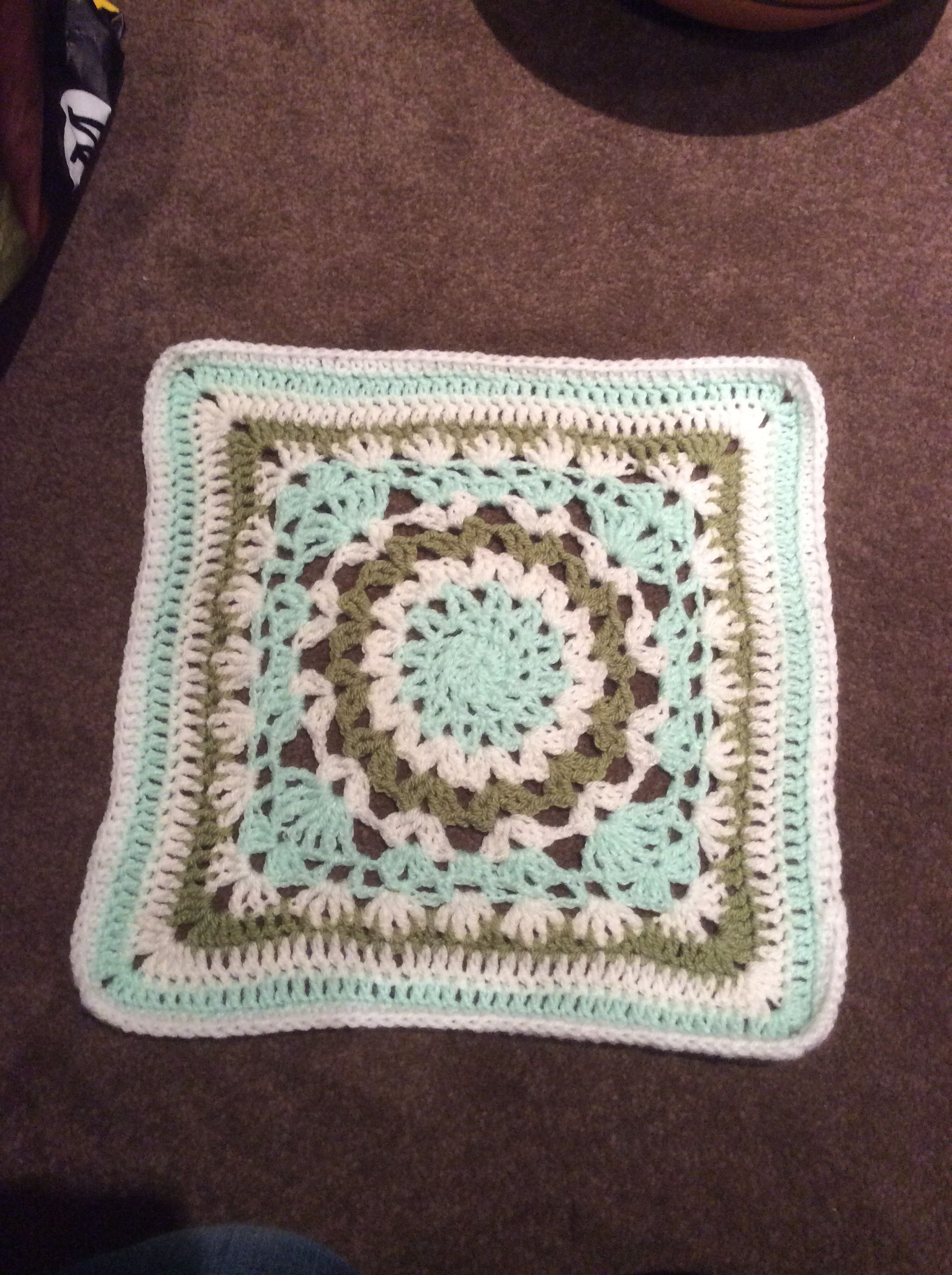 This is Square No. 15. It was interesting to make.