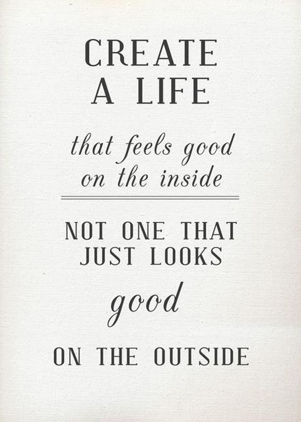 Create A Good Life You Love #quote