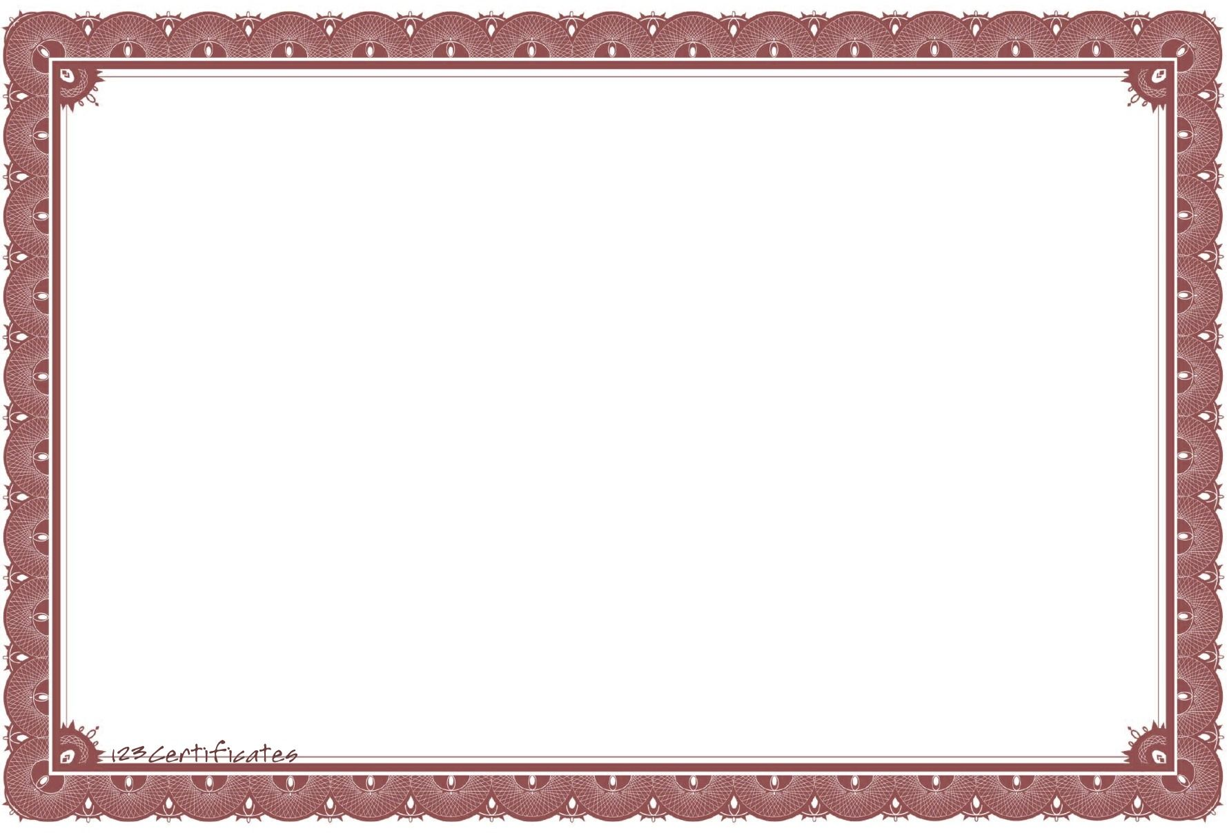 Free certificate borders to download certificate templates for free certificate borders to download certificate templates for yadclub Image collections