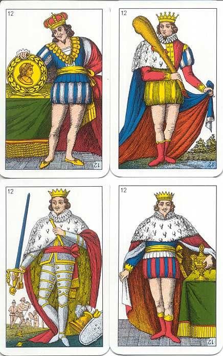 Modiano carte regionali Sarde