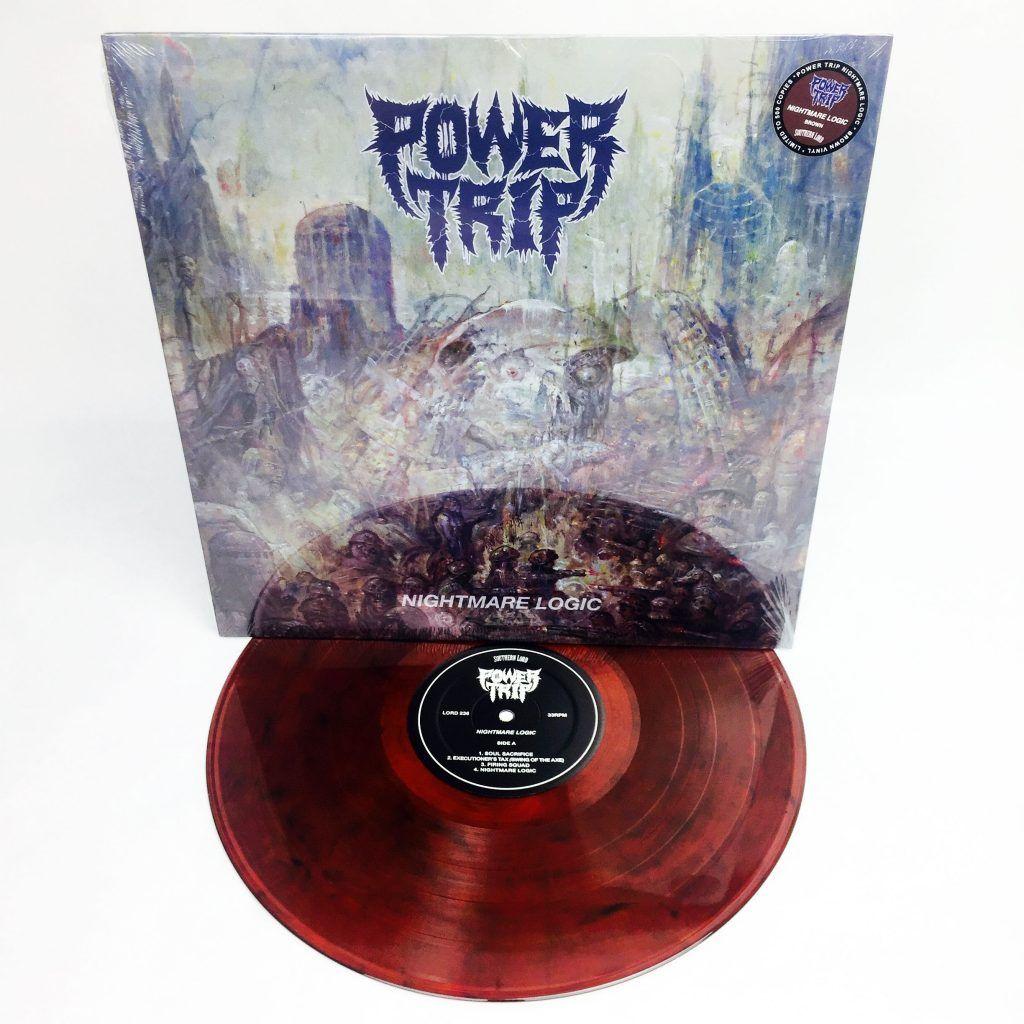 Power Trip Nightmare Logic 12 Lp Handstand Records Power Trip Trip Power