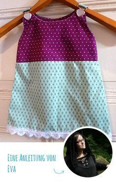 Photo of Free Instructions & Patterns: Sewing bib dress for babies Snaply magazine