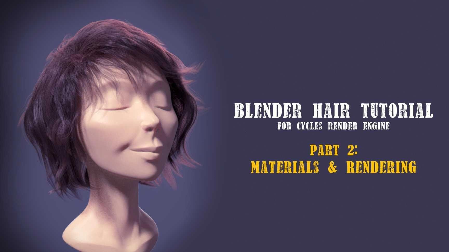 How to Render Hair with Cycles — Blender Guru