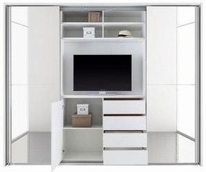 Bildergebnis Fur Kleiderschrank Tv Fach Schlafzimmer