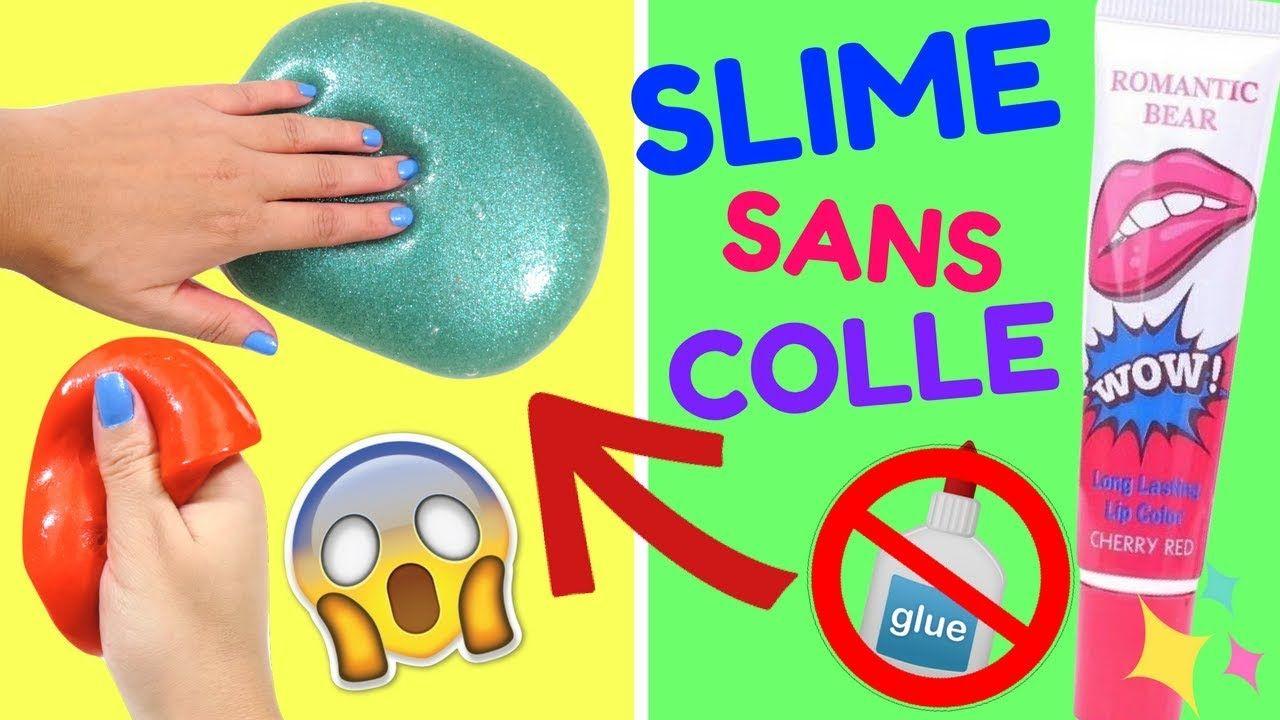 2 Recettes Slime Sans Colle Inratable Et Sans Borax Asmr Slime Youtube Slime Romantic Bear Cool Stuff