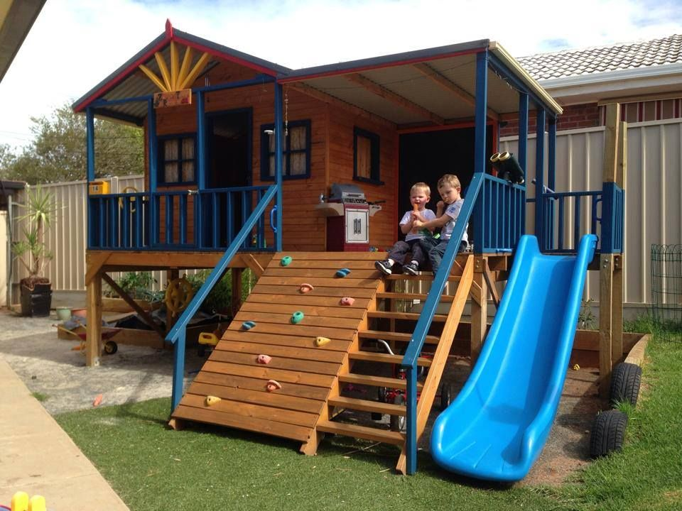 The Possibilities With A Cubby House Are Endless Backyard