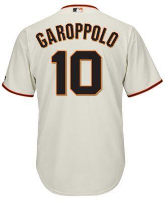 competitive price 30ac3 b5f12 Majestic Men's Jimmy Garoppolo San Francisco Giants Nflpa ...