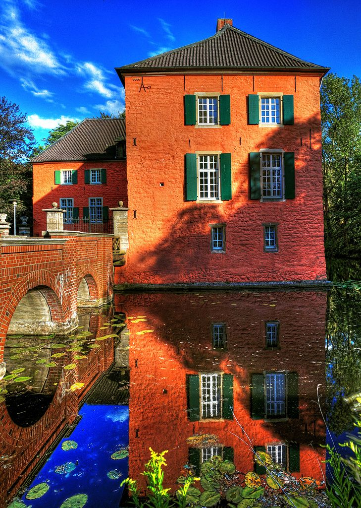 Water Castle, Gelsenkirchen (Nordrhein-Westfalen) Germany