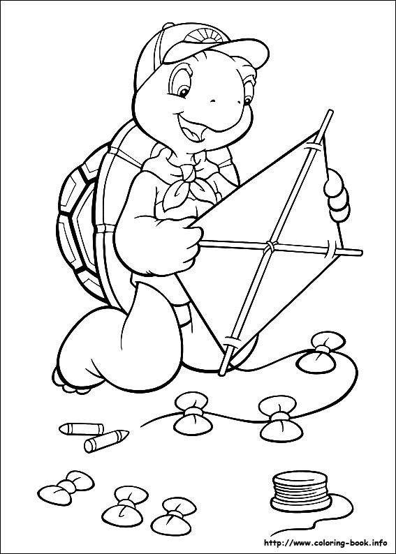 franklin the turtle coloring pages - Google Search | All things lila ...