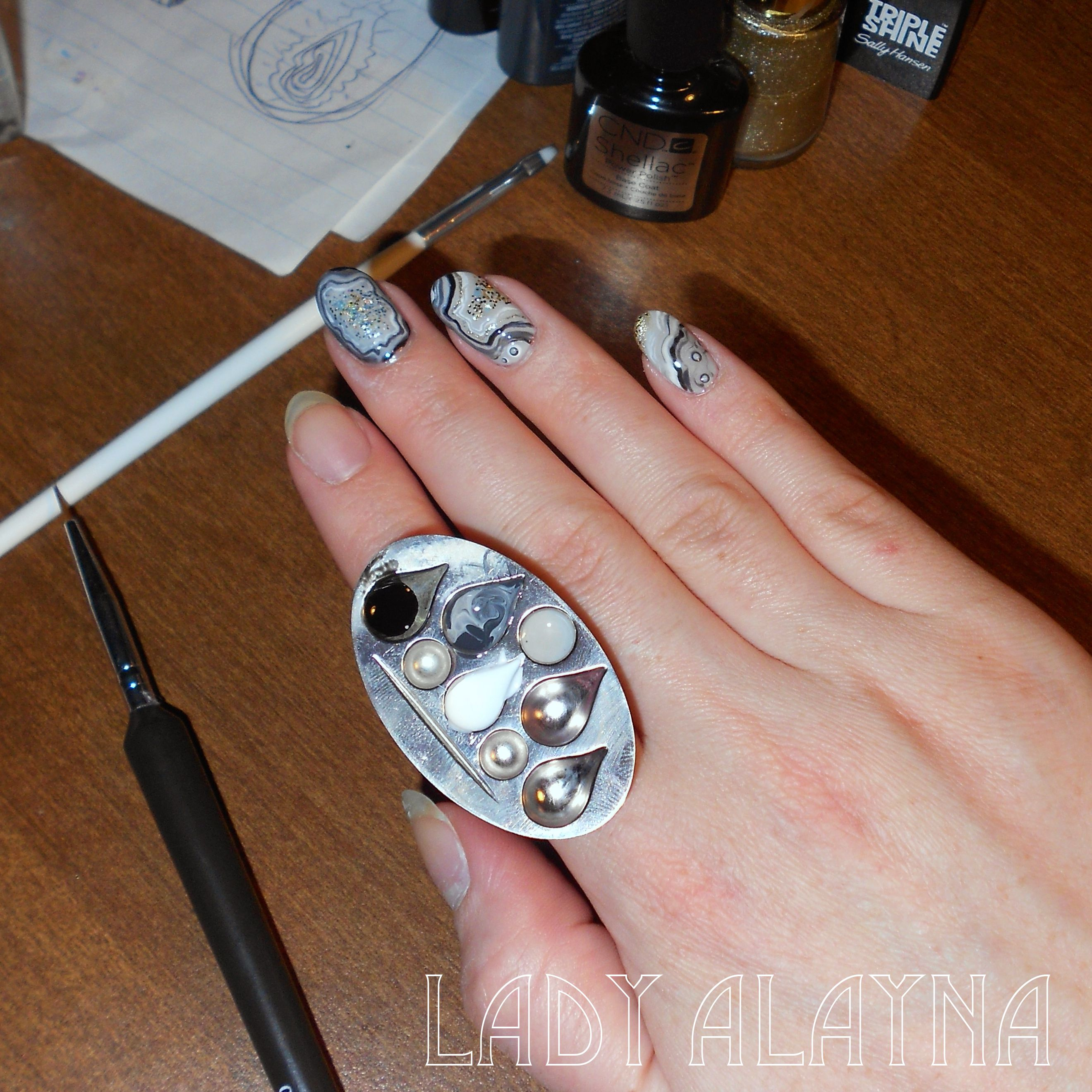 I Love My New Ring Thing From Empower Nail Art Using It Here To
