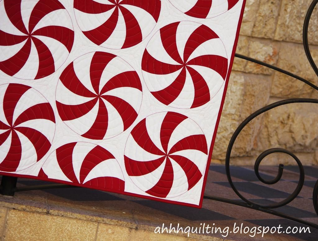Peppermint Swirl Quilt Pattern | Peppermint, Patterns and Craft : swirl quilt - Adamdwight.com