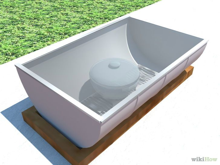 fabriquer et utiliser un four solaire solaire cuiseur solaire et produire son electricit. Black Bedroom Furniture Sets. Home Design Ideas