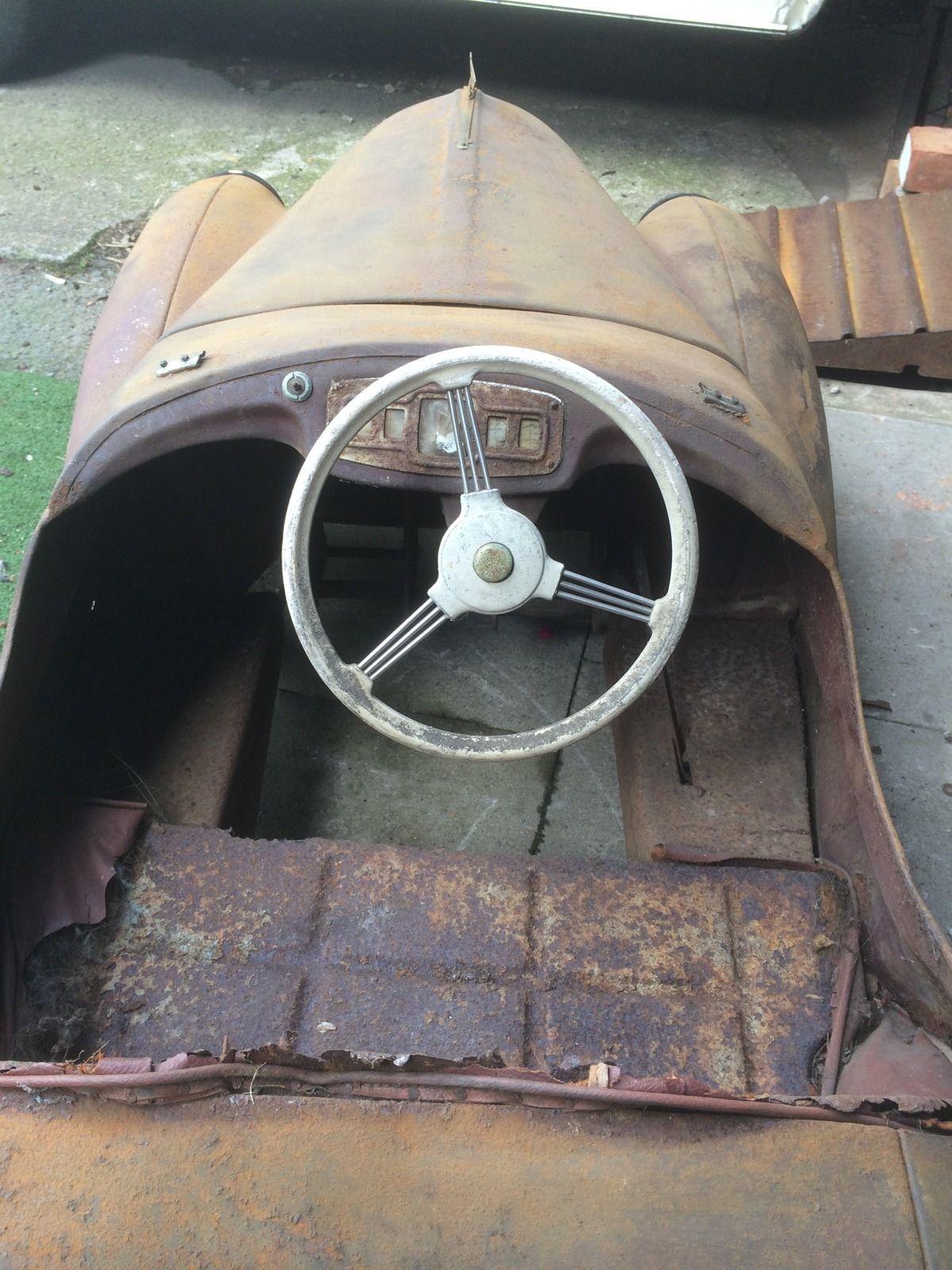 Austin J40 Classic Pedal Car Genuine Barn Find - http://www.ebay.co ...