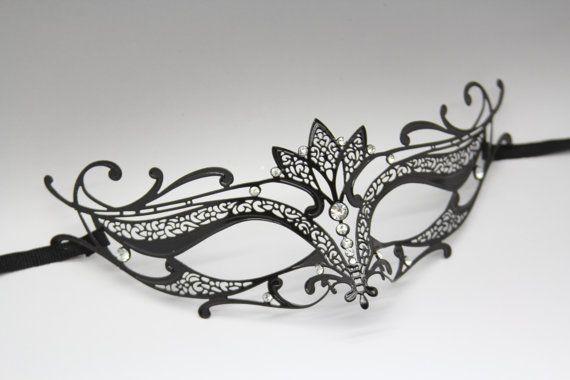 Masquerade mask. Pretty!