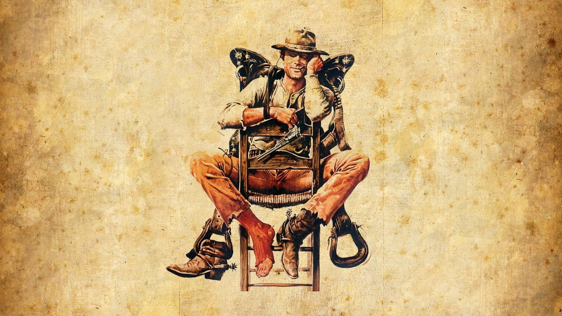 предметов картинки с ковбоями для декупажа пора