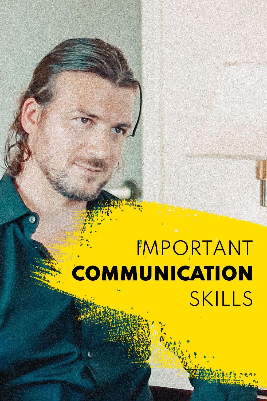 Communication Skills Improving Interpersonal Communication Skills Communication Skills Improve Communication Skills