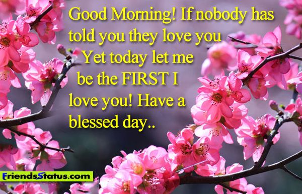 Blessed Good Morning Quotes Good Morning Quotes With Wallpapers