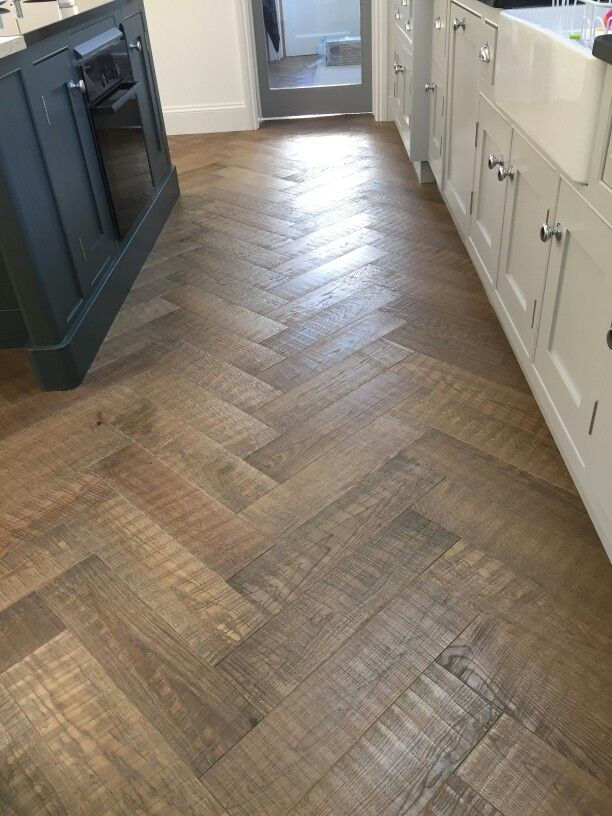 Effects Dark Oak Herringbone Home Pinterest Flooring Kitchen