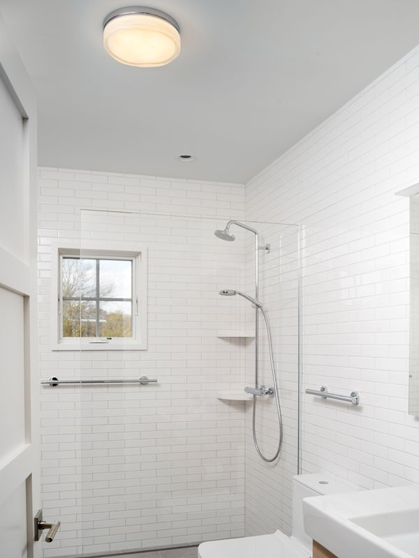 Bathroom lighting ideas for small bathrooms pinterest small in addition to fully illuminating the space the diffused light from the ceiling light will soften the bright light cast from the vanity light or lighted aloadofball Gallery