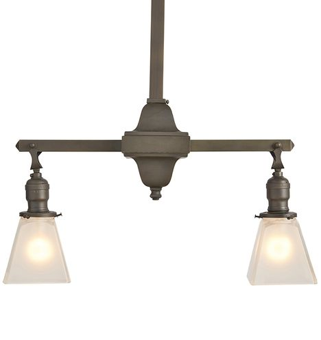 Essential Mission Style 2 Light Chandelier Products