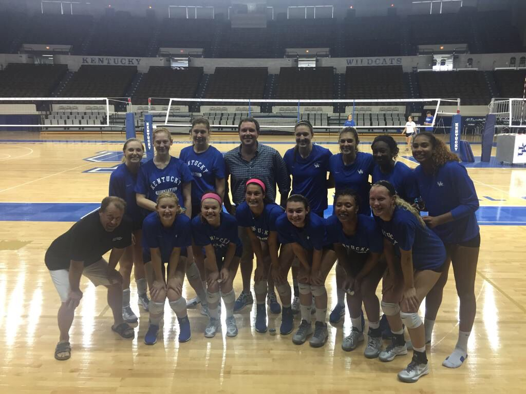 Had a blast broadcasting KSR Live from UK Volleyball
