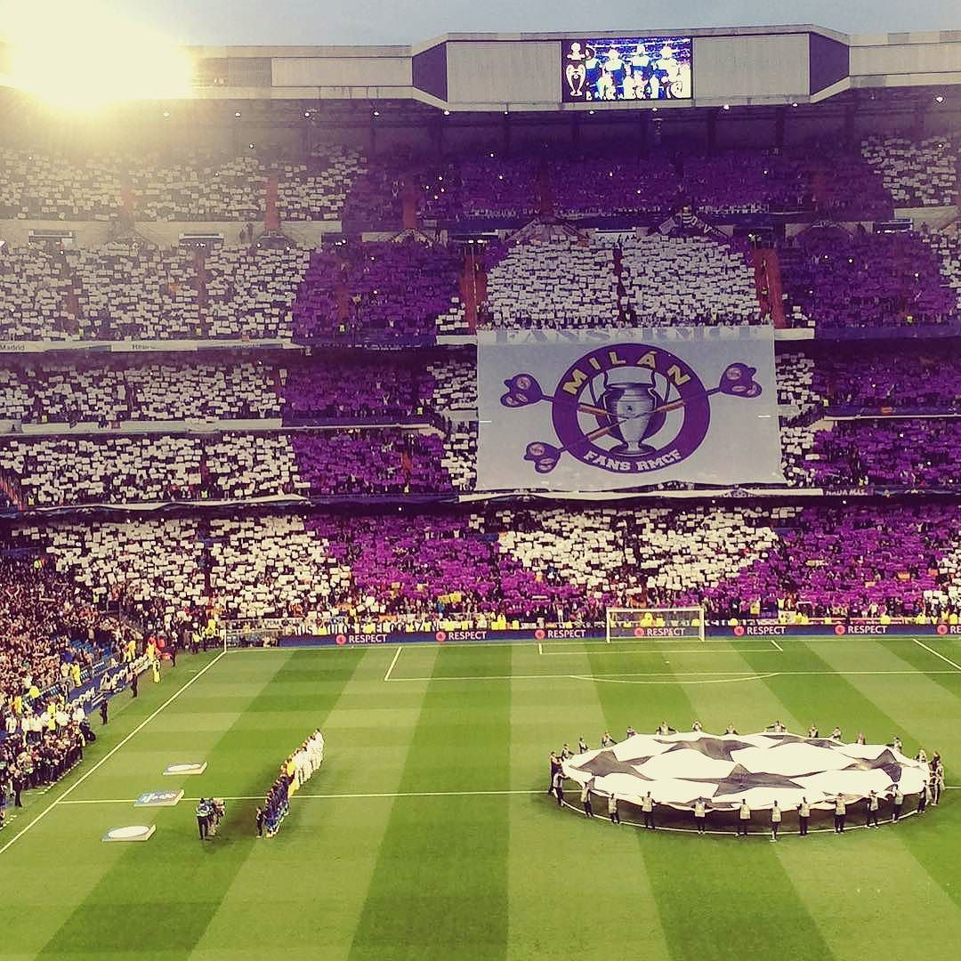 Santiago Bernabéu Noches Mágicas Realmadrid Championsleague Real Madrid Wallpapers Real Madrid Real Madrid Team