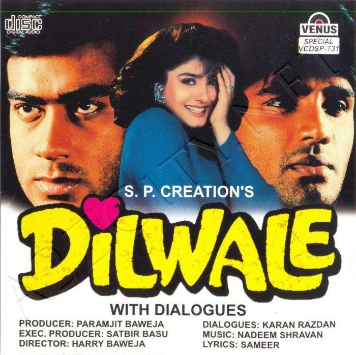 Dilwale 1994 Mp3 Vbr 320kbps Hindi Film Bollywood Movie Songs Hindi Movies