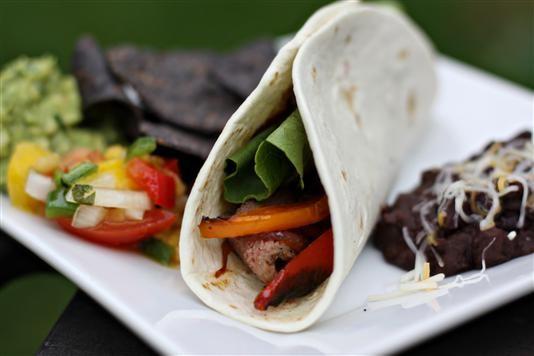 Top Shelf Steak Fajitas #beeffajitarecipe