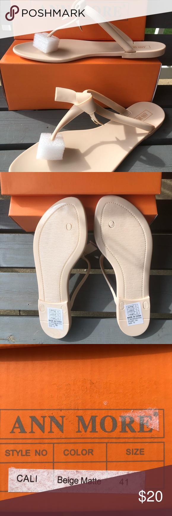 Nwt Ann Moore Beige Sandal Size 10 Beige Sandals Beige Sandals