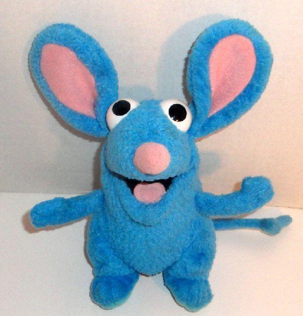 Disney Bear In The Big Blue House Tutter Mouse 7 Plush Doll Mattel