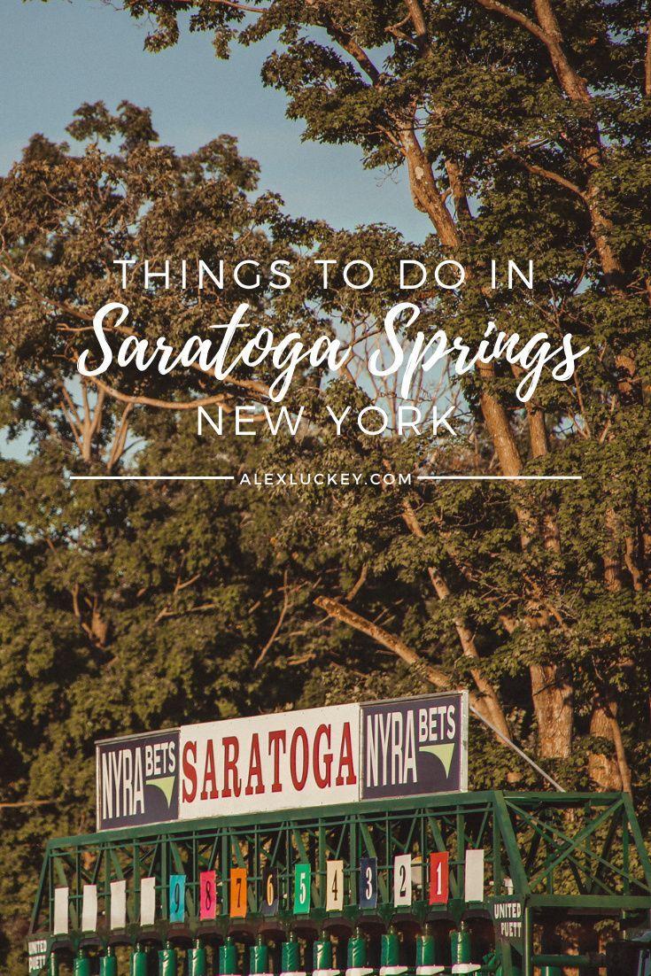 Saratoga Springs NY | Saratoga Springs NY Fall | Saratoga Springs Restaurants | What to do in Saratoga Springs NY | Saratoga Springs NY Downtown | #saratogasprings Luckey Alex