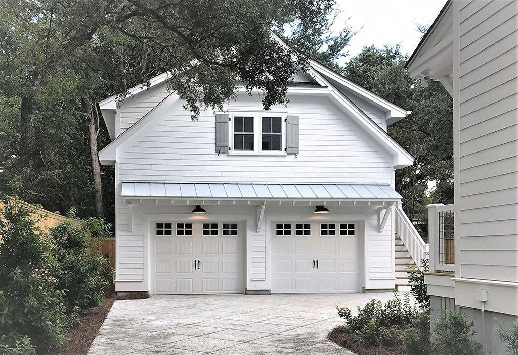 Garage Storage Systems Ideas Cool Garage Setups Style Garage Furniture 20191002 In 2020 Carriage House Plans Carriage House Apartments Exterior Stairs