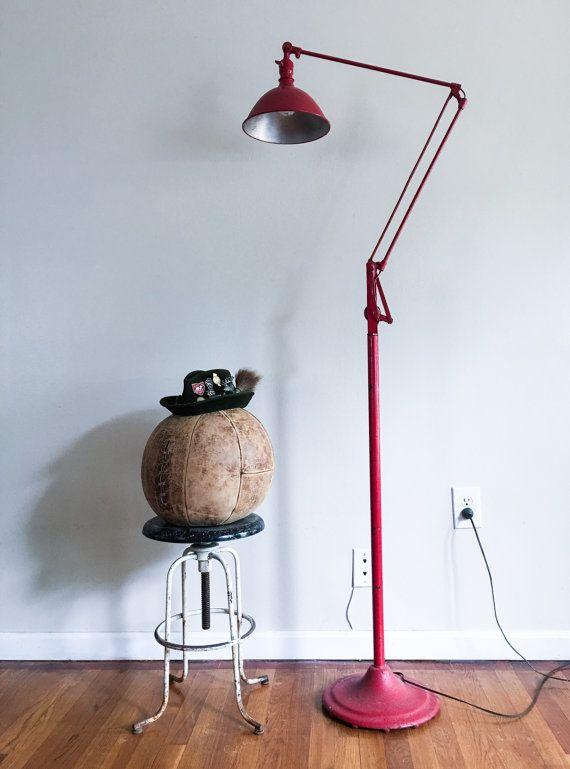 Rare Dazor Floor Lamp American Industrial with by CaribeCasualShop ...