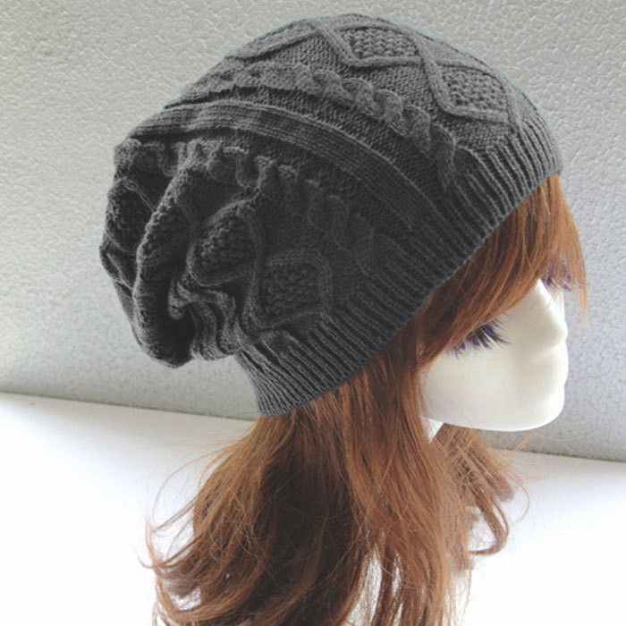 903a7818f8dae Women New Design Caps Twist Pattern Women Winter Hat Knitted Sweater  Fashion beanie Hats For Women 6 colors gorros Y1 Q1