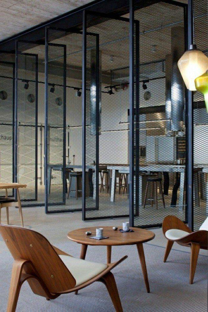 Les portes pliantes design en 44 photos! Architecture, Doors and Lofts - porte accordeon pour douche
