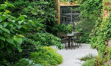 A small city garden oasis is part of Courtyard gardens design, Small courtyard gardens, Small city garden, City garden, Small urban garden, Urban garden - When Dan Pearson moved into new premises in the capital, he knew the first thing he had to do was create a tiny garden oasis