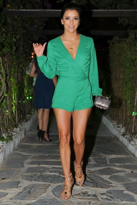 7f4f76f756c Eva Longoria s body suit and legs are always on point.