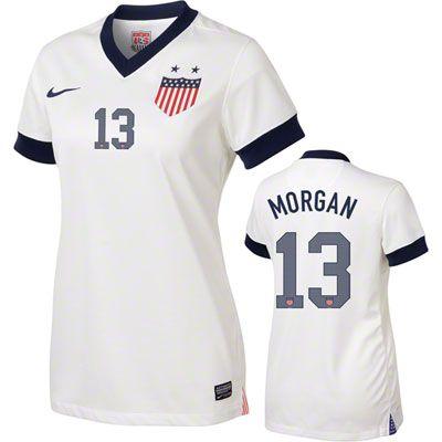 free shipping 903fe 01df9 Alex Morgan #13 Women's Centennial Nike Soccer Jersey ...