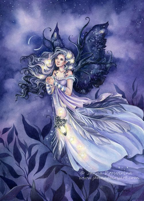Fairy Art Print ACEO 25x35 Inch Princess Angel By