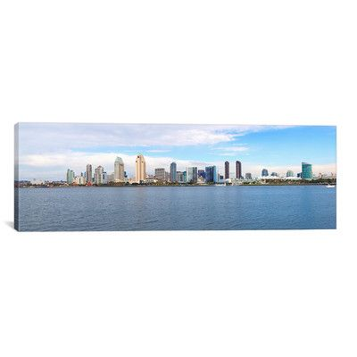 East Urban Home Panoramic Buildings at the Waterfront, San Diego, San Diego County, California 2010 Photographic Print on Canvas Size: