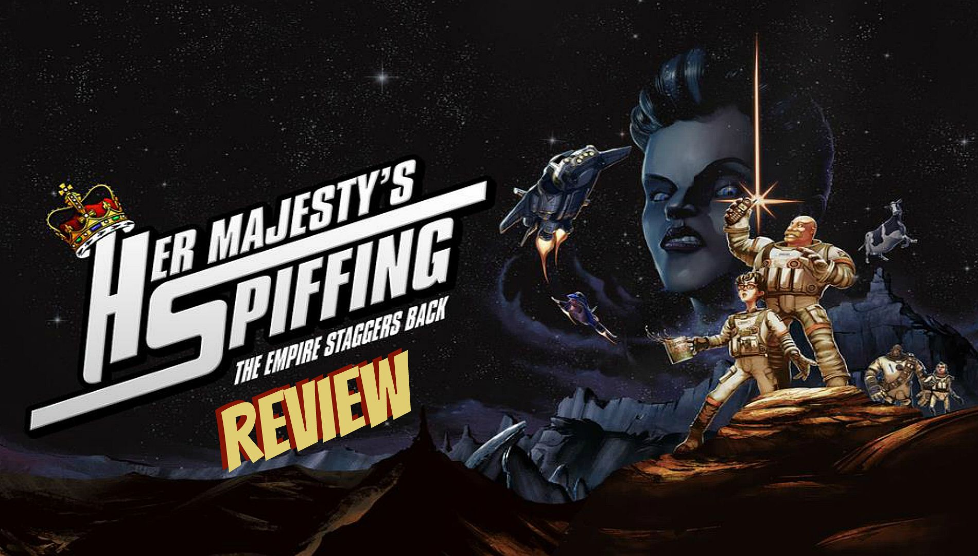 Her Majesty's SPIFFING Review (PS4