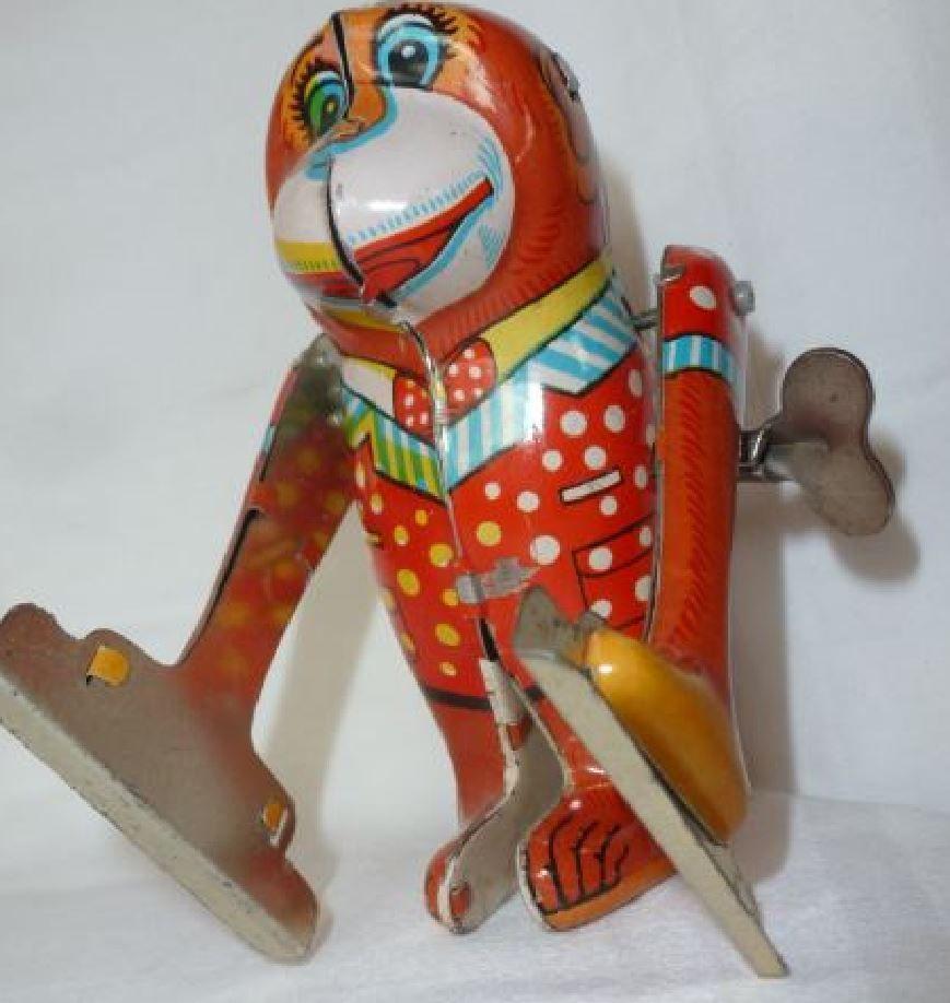 Der Klassiker Blechspielzeug Spielzeug Und Affen